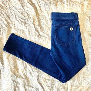 Michael Kors Skinny Dark Wash Blue Jeans